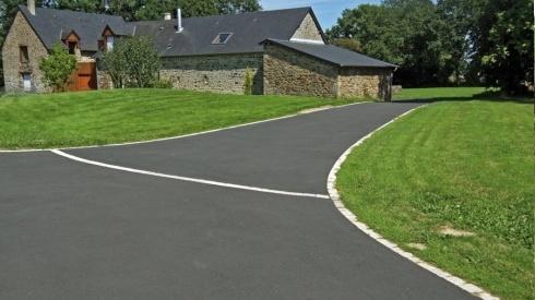 surfacing asphalt tarmac bitumen slab paving emulsion deactivated concrete landscaper. Black Bedroom Furniture Sets. Home Design Ideas